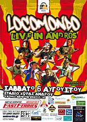 Locomondo Live in Andros
