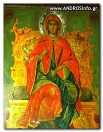 Η θαυματουργός εικόνα της Αγίας Μαρίνας